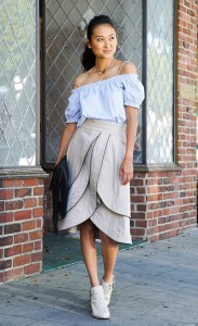 michelle-forstadt-adam-lippes-leather-trim-tiered-tulip-skirt