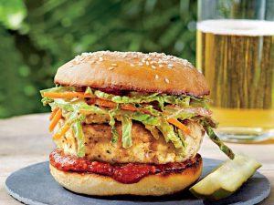 2. Chicken Burger