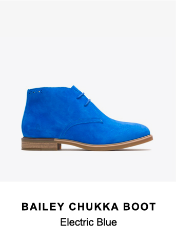 Bailey Chukka Boot | Electric Blue