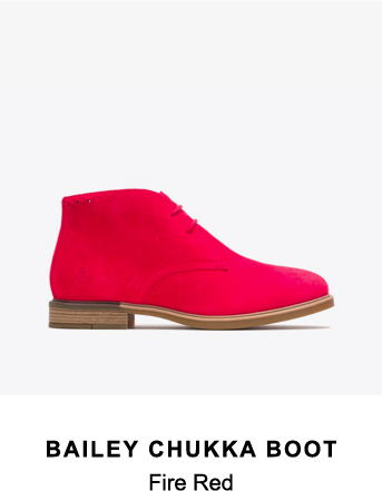 Bailey Chukka Boot | Fire Red
