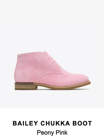 Bailey Chukka Boot | Peony Pink