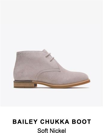 Bailey Chukka Boot | Soft Nickel