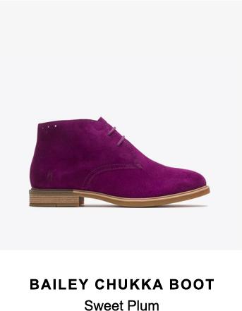Bailey Chukka Boot | Sweet Plum