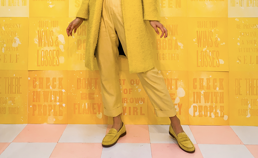 Yellow Wren Loafer - Hush Puppies