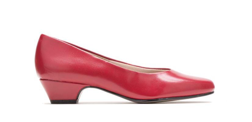 Women's Angel II Slip-On Pump   Red Elegance   Hush Puppies