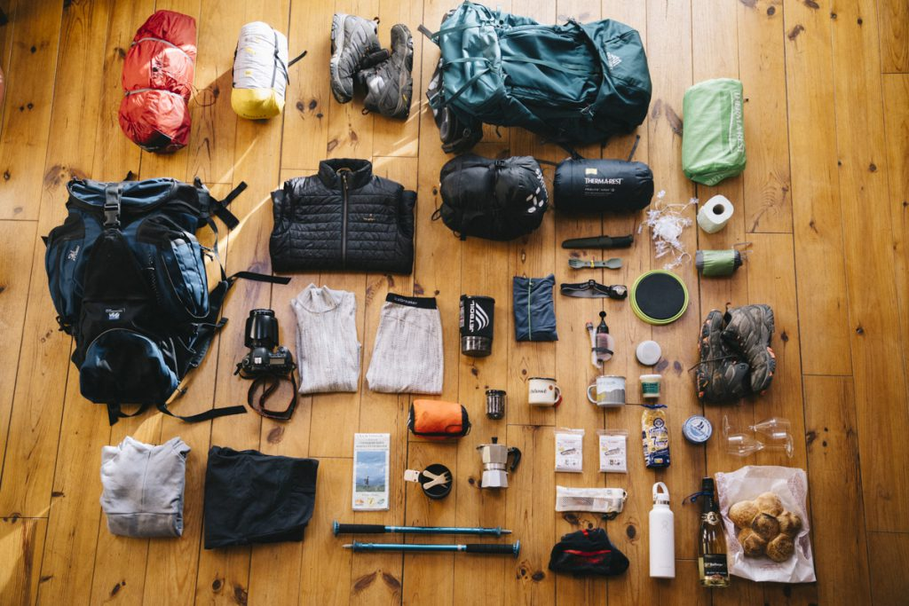 Gear fro camping