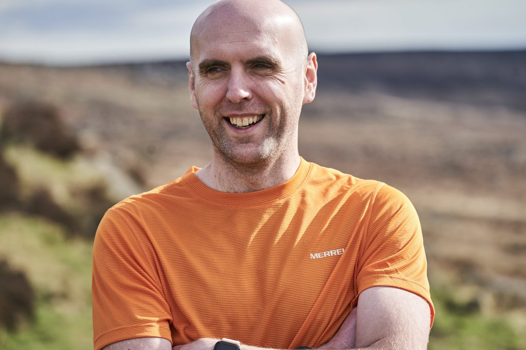 Simon Wheatcroft has challenged adversity becoming an ultrarunner.