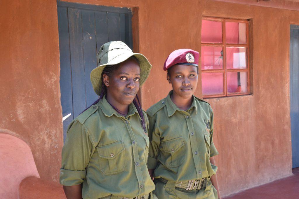 Female rangers at Borana Conservancy in Kenya