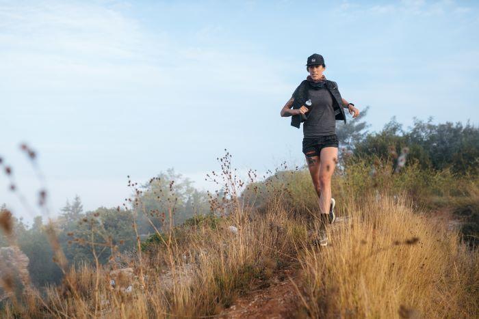 Woman runnig