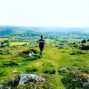 Lucy Loveday fell running on Dartmoor. Credit Lucy Loveday