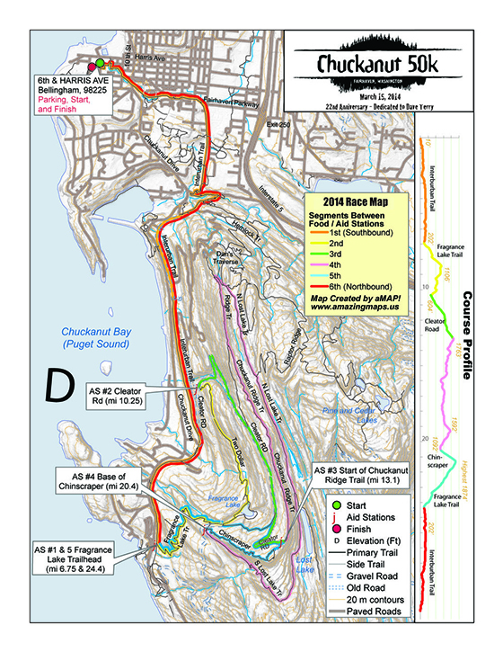 2013Chuckanut50K_Map