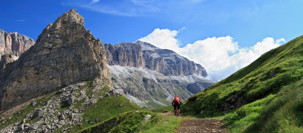 Dolomites trail