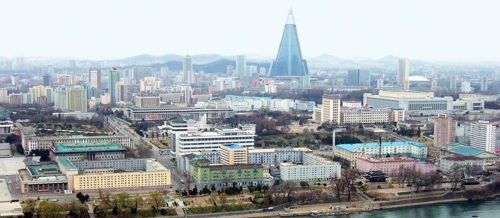 Pyongyang North Korea Header