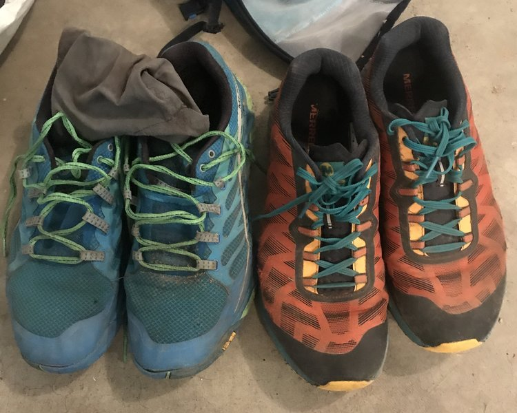 Merrell Shoes for Wonderland Trail