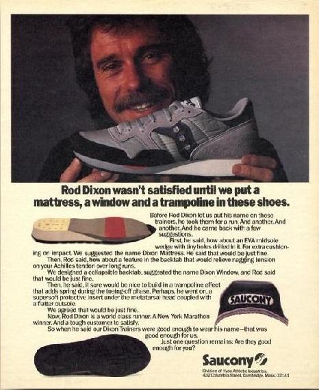 1984 Dixon Trainer Ad
