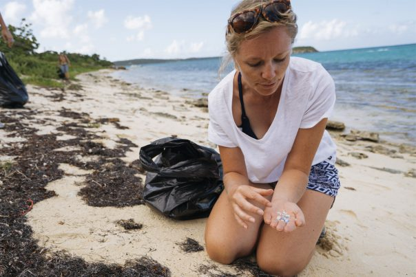 Emily Penn Beach Clean Up